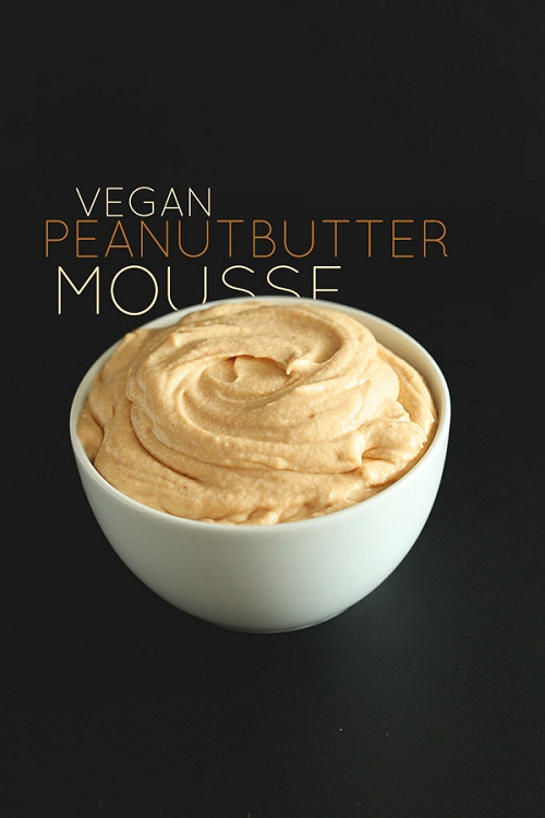 16 PEANUT BUTTER MOUSSE