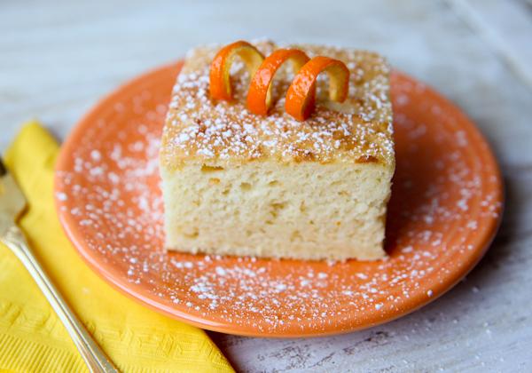 4 Creamsicle Cake