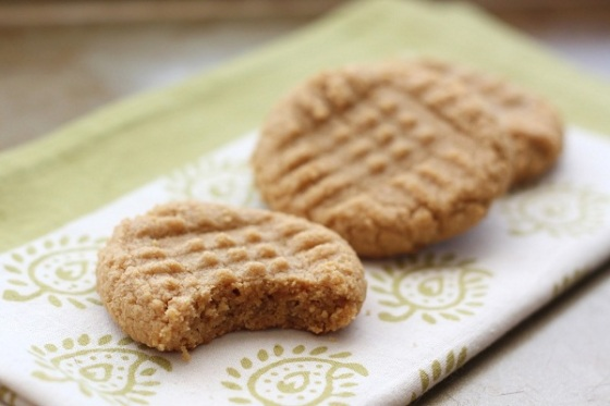 5 Peanut butter cookies